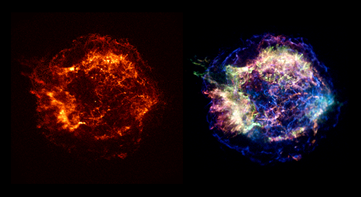Images of Cassiopeia A
