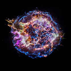Chandra image of Cas A supernova remnant