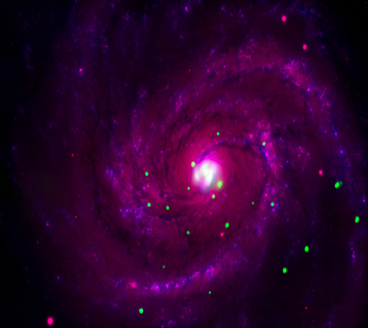 Colorful Real Galaxies - Pics about space