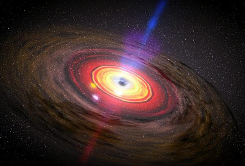 Matter around Black Hole