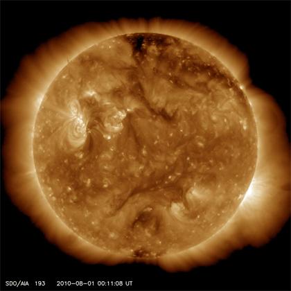 No more sun, what happens ?
