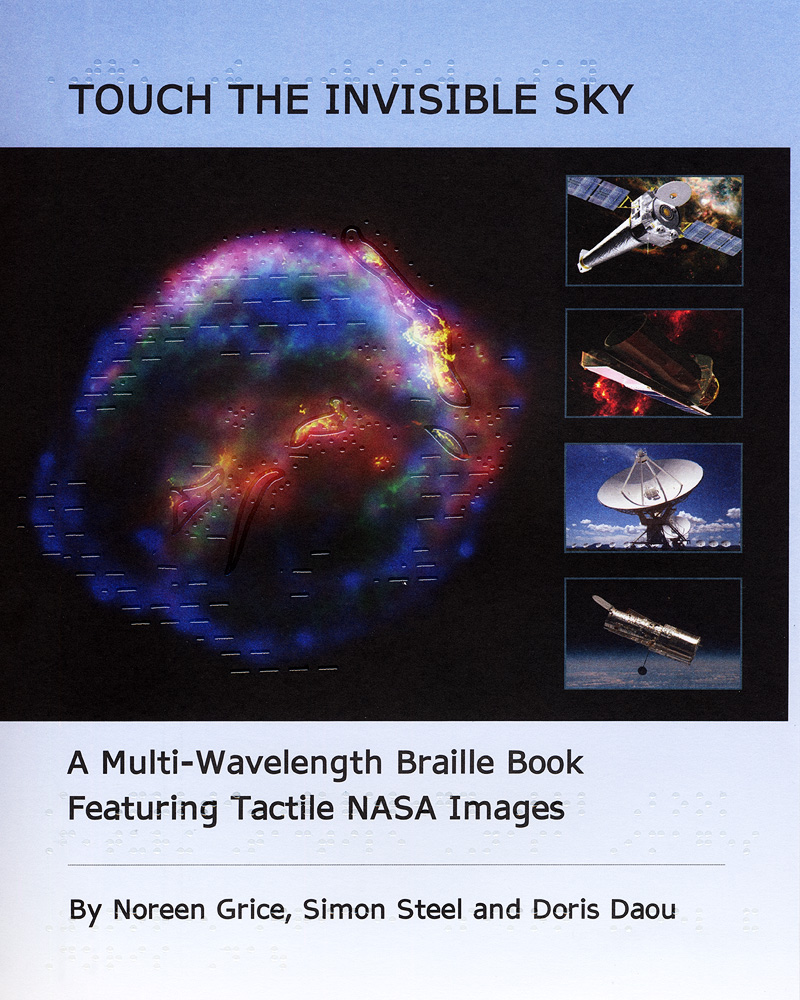 Chandra :: Educational Materials :: Touch the Invisible Sky