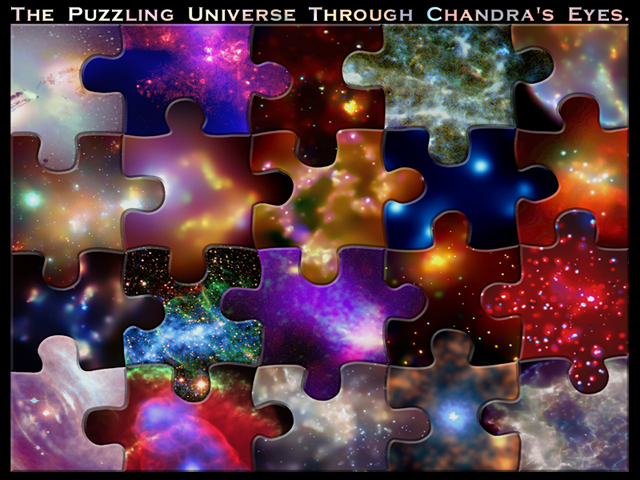 puzzling pictures from Chandra