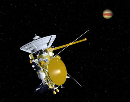 cassini space probe jupiter - photo #13