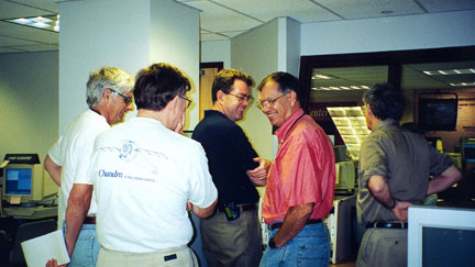 Chandra scientists smiling