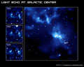 Thumbnail of Light Echo at Galactic Center