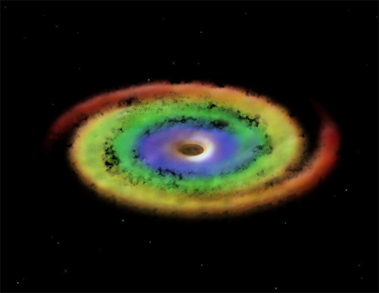 black hole accretion - photo #3