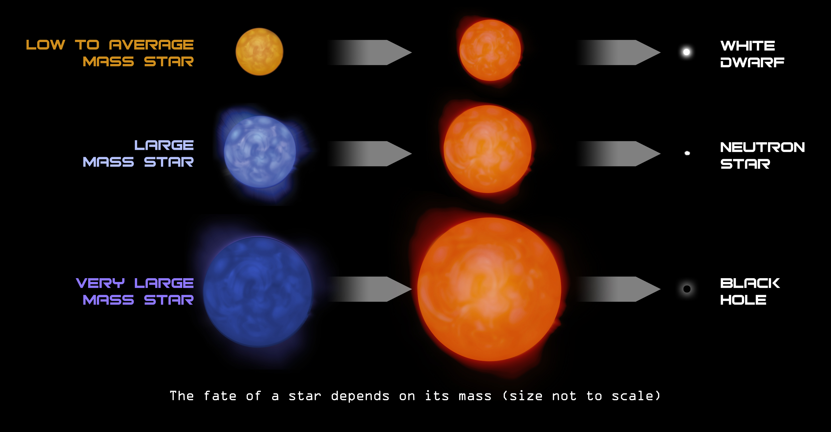 Red Supergiant Star Life Cycle - Pics about space