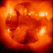 This X-ray image of the Sun is from the Yohkoh satellite