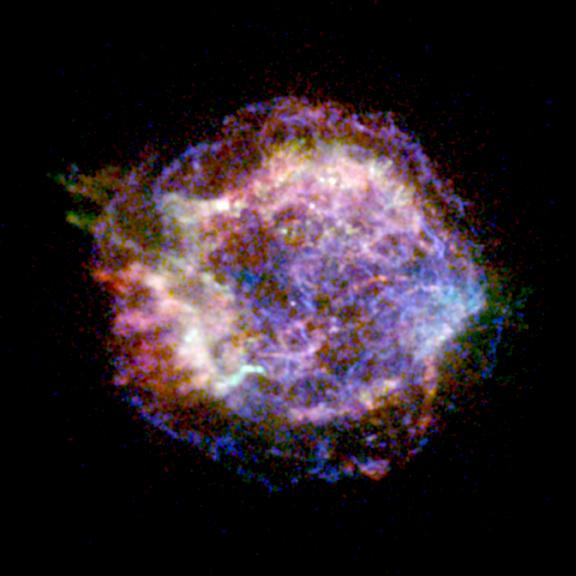 Chandra :: Photo Album :: Cassiopeia A :: 26 Aug 99
