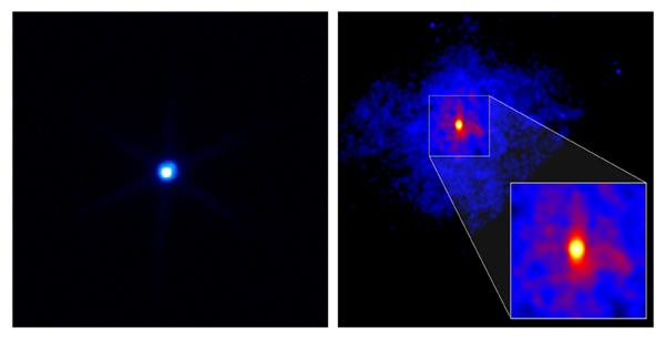 Resultado de imagen de RX J1856.5-3754 (también RX J185635-3754 o 1ES 1853-37.9) es una estrella de neutrones situada en la constelación de la Corona Austral
