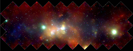 X-Ray Mosaic Of Galactic Center