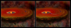 Fig 7: Small flares: non-turbulent disk illustrations
