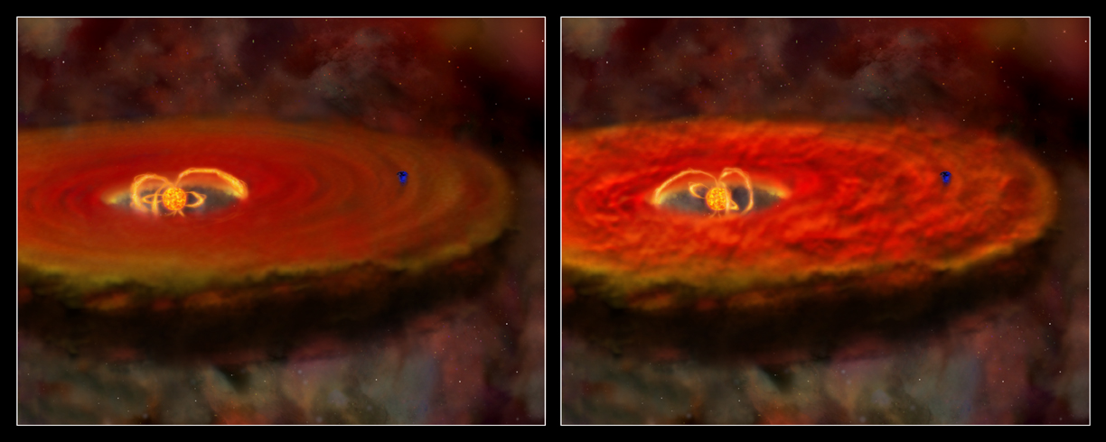 Chandra :: Photo Album :: Orion Nebula :: The Link Between Flares and Planet Survival: Comments ...