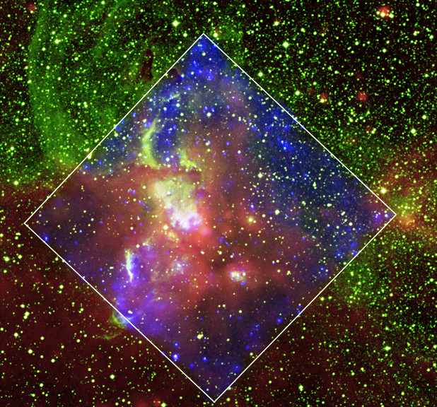 02-CHANDRA - PICTURE OF THE WEEK - JULI 2017. Ngc3576_comp