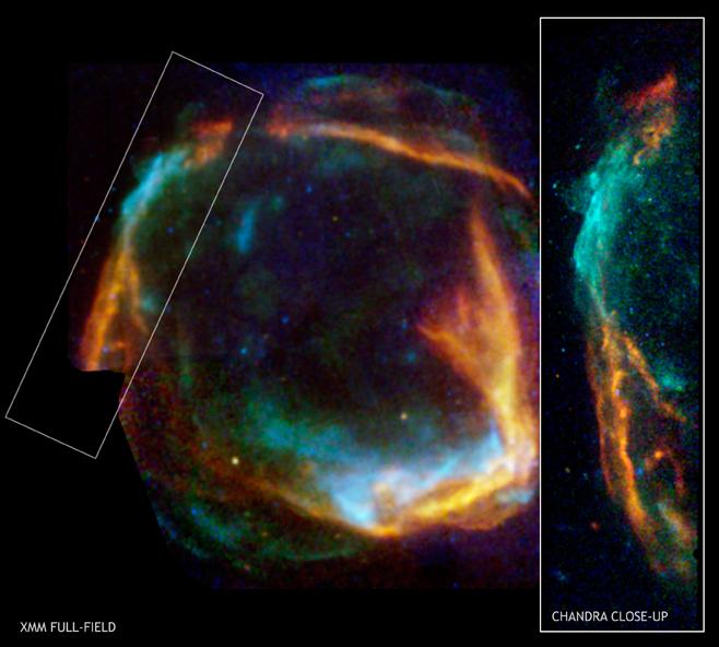 Une supernova observée en l'an 185 par les Chinois a été retrouvée