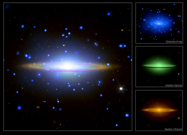 Chandra Photo Album Sombrero Galaxy 30 Apr 07