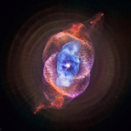 Nouvelle vision de la nébuleuse Oeil de Chat