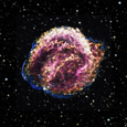 Photo of Kepler's Supernova Remnant