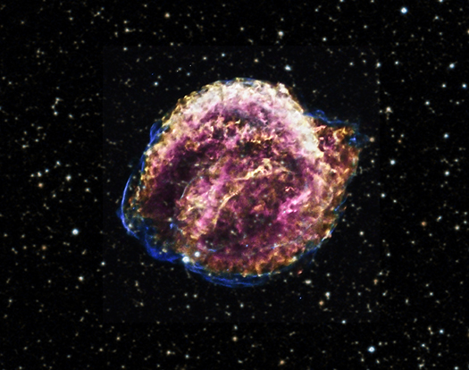 supernova first observed in 400 years - photo #4