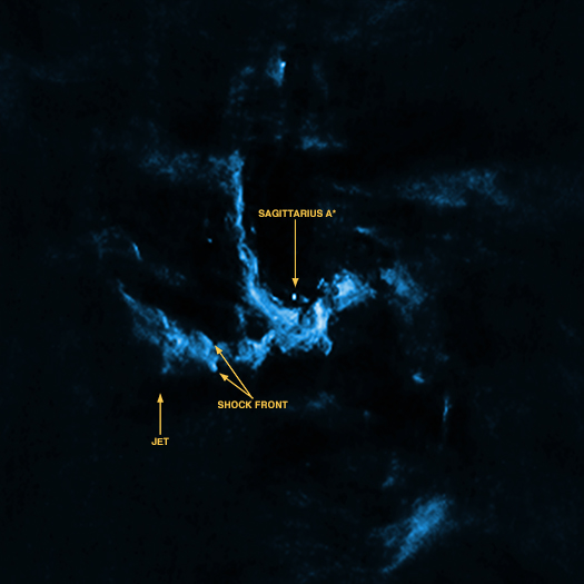 high speed jets in the milky way black hole - photo #19