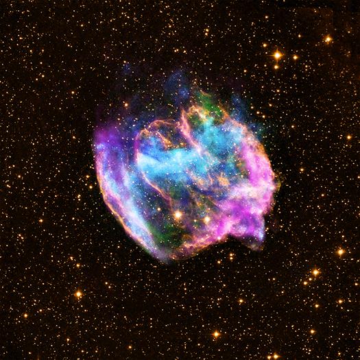 Supernovaresten W49B