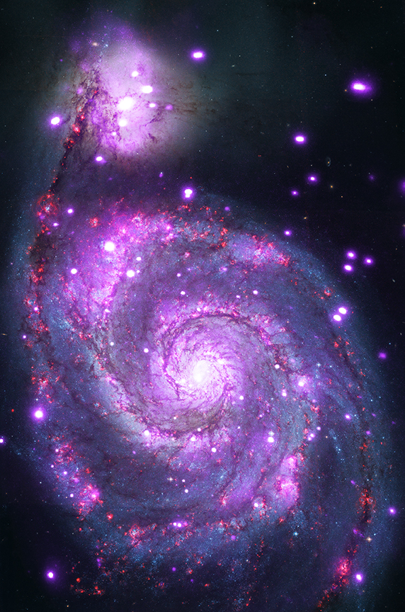 Chandra :: Photo Album :: Whirlpool Galaxy :: June 3, 2014