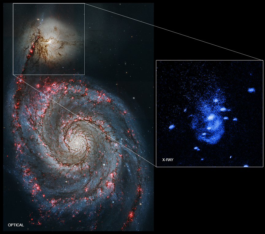 Chandra :: Photo Album :: NGC 5195 :: January 5, 2016