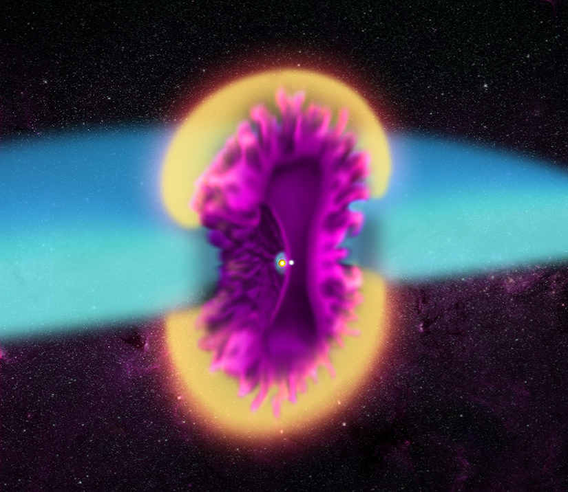 Stelle Costellazioni Nebulose Buchi Neri V745