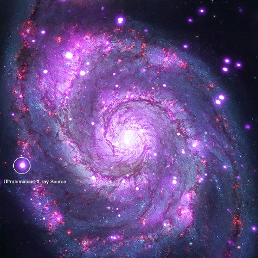 Chandra :: Photo Album :: ULX in M51 :: March 1, 2018