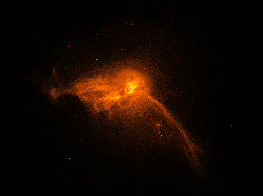 Chandra :: Photo Album :: M87 :: April 10, 2019