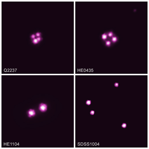 Image of Four Quasars