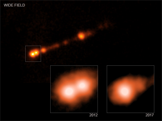 Image of Jet from M87 supermassive black hole