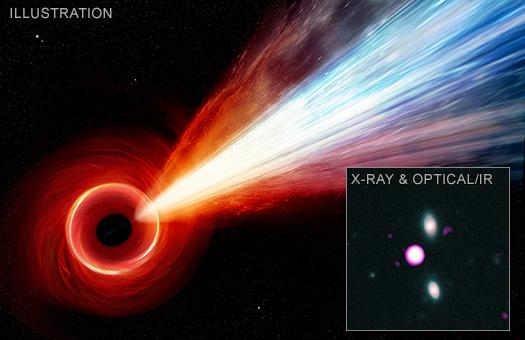 Stelle Galassie Nebulose Buchi neri Jet_525