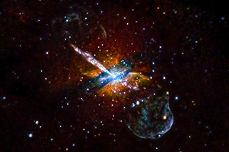 A Tour of NGC 5128 Flare